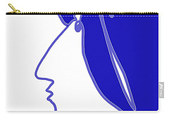 Blue Belle Carry-all Pouch