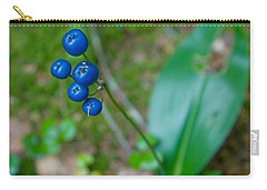 Blue Berries Carry-all Pouch