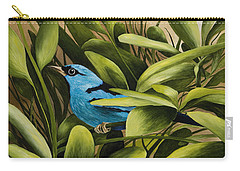 Blue Bird In Branson Carry-all Pouch