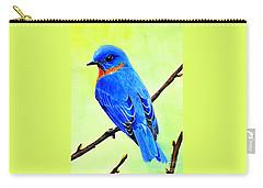 Blue Bird King Carry-all Pouch