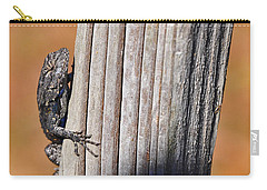 Carry-all Pouch featuring the photograph Blue Bits by Al Powell Photography USA