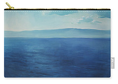 Blue Blue Sky Over The Sea  Carry-all Pouch