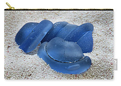 Blue Bottle Tops Carry-all Pouch
