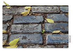 Blue Bricks With Yellow 2 Carry-all Pouch