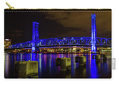 Blue Bridge 1 Carry-all Pouch by Arthur Dodd