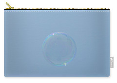 Blue Bubble Carry-all Pouch