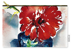 Blue Bud Vase Carry-all Pouch