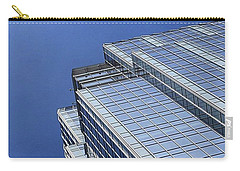 #blue #buildings And #blueskies. I Have Carry-all Pouch by Austin Tuxedo Cat