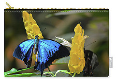 Blue Beauty Butterfly Carry-all Pouch
