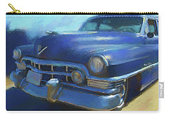 Blue Caddy Carry-all Pouch