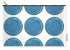 Blue Can Lid Times Nine Carry-all Pouch