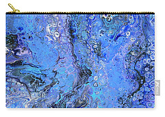 Blue Capri Carry-all Pouch