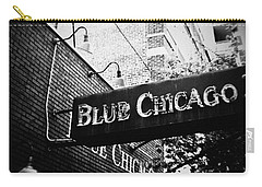 Blue Chicago Nightclub Carry-all Pouch