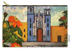 Blue Church   Iglesia Azul Carry-all Pouch