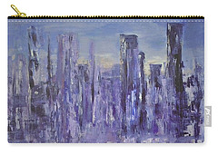 Blue City At Dawn Carry-all Pouch