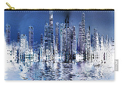 Blue City Carry-all Pouch by Stuart Turnbull