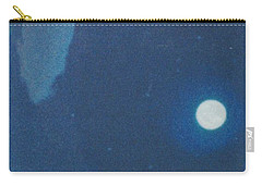 Blue Cloudy Moon Carry-all Pouch