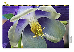 Blue Columbine Up Close 1 Carry-all Pouch