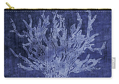 Blue Coral- Art By Linda Woods Carry-all Pouch