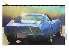 Blue Corvette Carry-all Pouch