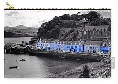 Blue Cottages At Portree Harbour 5 Carry-all Pouch