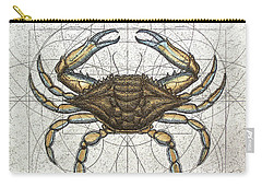 Blue Crab Carry-all Pouch by Charles Harden