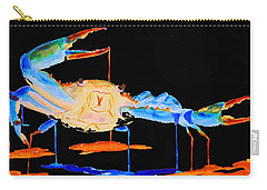 Blue Crab Two Carry-all Pouch