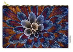 Blue Dahlia Carry-all Pouch