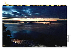 Blue Dawn On Casco Bay Carry-all Pouch