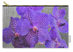 Purple Dendrobium Orchids Carry-all Pouch