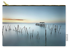 Blue Dimension Carry-all Pouch by Jorge Maia