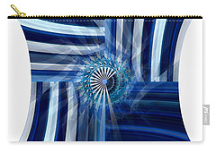 Blue Dimension  Carry-all Pouch by Thibault Toussaint