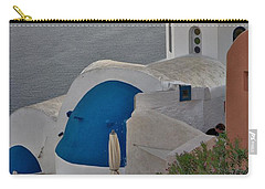 Blue Domes Carry-all Pouch