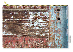 Blue Door Crackle Carry-all Pouch
