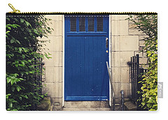 Blue Door In Ivy Carry-all Pouch
