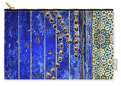 Blue Door In Marrakech Carry-all Pouch