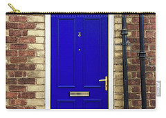 Blue Door Number 3 Carry-all Pouch