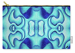 Blue Dream Carry-all Pouch by Versel Reid