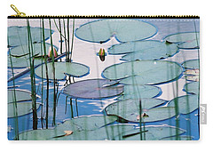 Blue Dreams Carry-all Pouch by Doris Potter