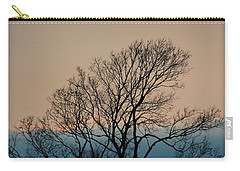 Carry-all Pouch featuring the photograph Blue Dusk by Chris Berry