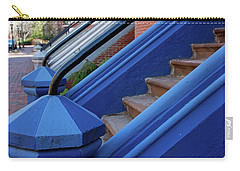 Blue Entry Carry-all Pouch by Jim Gillen