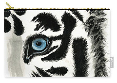 Blue-eyed Tiger Carry-all Pouch