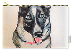 Blue Eyes Carry-all Pouch by Stacy C Bottoms