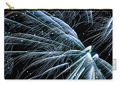 Blue Fairy Fireworks #0710_3 Carry-all Pouch