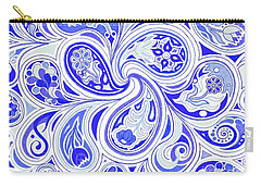 Blue Fantastic Carry-all Pouch