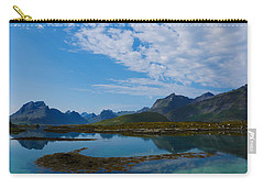 Blue Fjord Carry-all Pouch by Tamara Sushko
