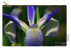 Blue Flag Iris Carry-all Pouch