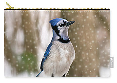 Blue For You Carry-all Pouch by Evelina Kremsdorf