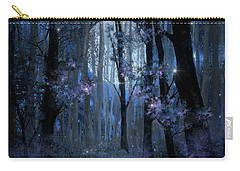 Blue Forest Carry-all Pouch by Bekim Art