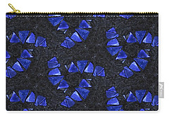 Blue Glass  Carry-all Pouch by Maria Watt